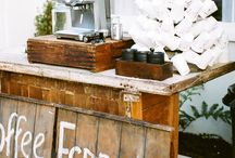ll entertaining :: coffee bars ll / After dinner or morning coffee bars