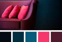 ➤ Couleurs / Couleurs, palettes, colors, rainbow, inspiration.