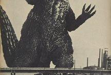 Godzilla & Dinosaurus / Jurrassic & Eastern Pets / by Lanthanides