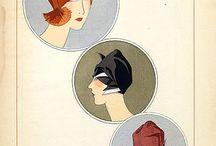 Chapeaux hats / Année 1926
