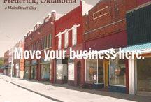 Main Street Frederick, Oklahoma