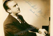 Favorite Pianist Autographs & Memorabilia / Our selection of great autographs from famous pianists