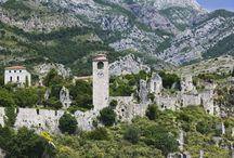 Montenegro,Albánia / utazás