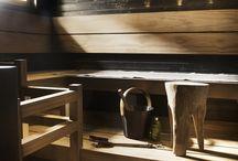 Sauna / Tunnelmalliset saunat. Ihastu asiakkaillemme toteutettuihin yksilöllisten kotien upeisiin saunoihin.