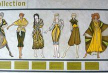 fashion design Portfolios