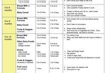 Baby food schedule