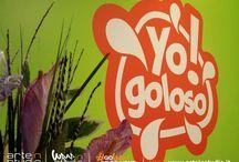 Allestimento locale Yo Gologo / Allestimento locale Yo Gologo #creazionelogo #logo #yogoloso #yogurt #yogurteria #pubblicita #adesivaparete #logoparete #pannellomenu #personalizzaionebancone #perosnalizzaizonebancone #perosnalizzaioznetavolo #partepersonalizzata #banconepersonalizzato #tavolopersonalizzato #arteinstudio