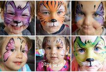 Face painting ideas / by Amy S