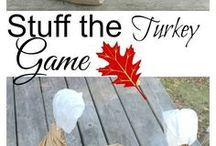 Thankful Activities + Thanksgiving / Thankful activities and thanksgiving crafts for children in preschool and daycare.