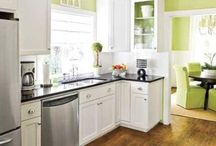 PAINTED KITCHEN CABINET IDEAS / collection picture of PAINTED KITCHEN CABINET
