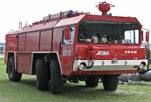 WORLD HEAVY AIRPORT FIRE DEPT. TRUCKS (1) / Heavy Fire Dept. Trucks,which operate in the Airports,in case of emergency,in each & every World International Airports.