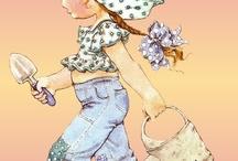 being a little girl