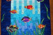 unterwasserquilt / by Tina Reul