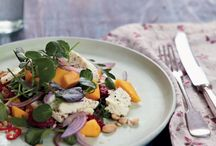 Show-off Veggie Dishes / Vegetarian food can present some of the most intriguing flavour combinations, complex techniques and wow-factor looks. Here are a few dinner party worthy recipes from the library.