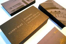 design / business cards / by Lauri Shillings