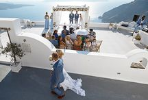 Weddings on Greek Islands / Weddings on the beautiful islands of Greece including Santorini, Mykonos, Crete, Rhodes, Corfu.