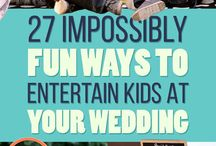 Kids wedding entertainment