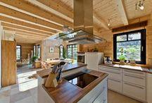 Holzhäuser innen