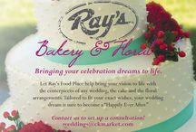Fairytale Wedding / Think of Ray's for your perfect Wedding Cake, flowers or catering