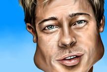 Caricatures / Celebrities at their best :)))) / by Tanya Lowery