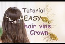 Hair vine diy