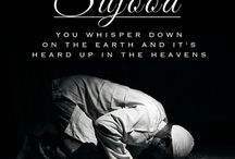 SUJOOD ... when you whisper down on earth to ALLAH and its heard in the Heaven. / How beautiful and amazing time when Sujood for ALLAH