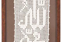 calligraphy crochet