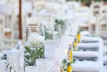 Outdoor table settings / by Olga (Landish Studio) Friedman