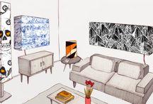 Leuchtende Kreativität / ...genau die bringen wir in Dein Wohnzimmer! Deine Lampe, Dein Design!