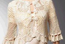boleros y capas crochet