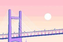 △ Pixel art △