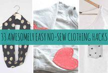roupa e acessorios DIY
