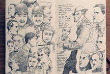 sketchbooks / by pam garrison