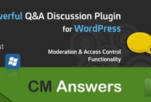 CM Answers Plugin for Wordpress / by CM Plugins