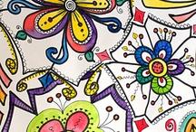 Lettering, doodle,