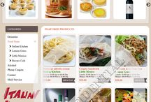 Food ordering system / Online food ordering system using magento