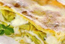 Lasagne ai carciofi / Lasagna