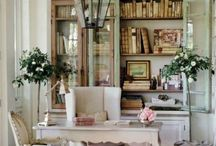 Inspiration/work space / by French Country Cottage