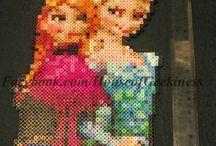 Reine des neiges / Perles hama