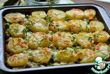 Мясные блюда и из картошки