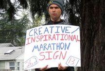 Marathon signs / Funny marathon signs ;)