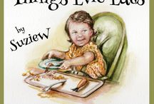 Things Evie Eats / Things Evie Eats is a book for children by Suzie W. It's available on Amazon. Things Evie Eats is the story of a little girl with very definite ideas on the things she'd like to eat, as told by her big(-ish) brother.