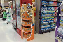 P.O.P Nivel 1 Soluciones para el punto de venta / Exhibidores, display de mostrador, stoppers, islas, y diferentes materiales para el punto de venta