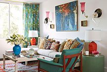 Living room colour
