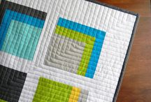 Contemporary patchwork quilts. / Catchy.