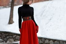 Big skirts