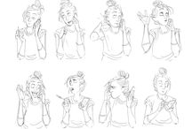 Drawing: Character studies