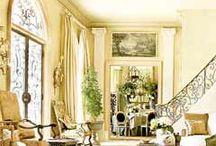 #  ROOMS + french style / un style français / estilo francés / Lots of decor details + luxurious fabrics + Louis furniture. Muchos detalles decorativos + telas lujosas + muebles Luises. Beaucoup de détails décoratifs + des tissus luxueux + des meubles Luises.