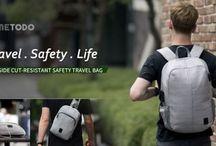 Metodo- Anti-Theft Cut Resistant Bag