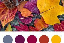 Color palettes | Autumn
